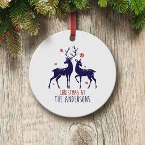 personalised-loving-reindeers-round-ceramic-decoration