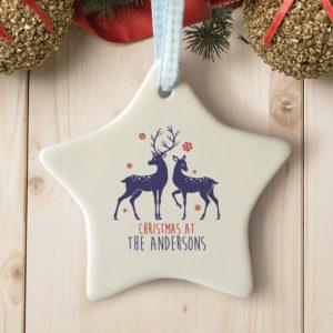 personalised-loving-reindeers-star-ceramic-decoration